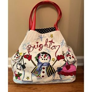 Brighton, snow day tote, new with tags